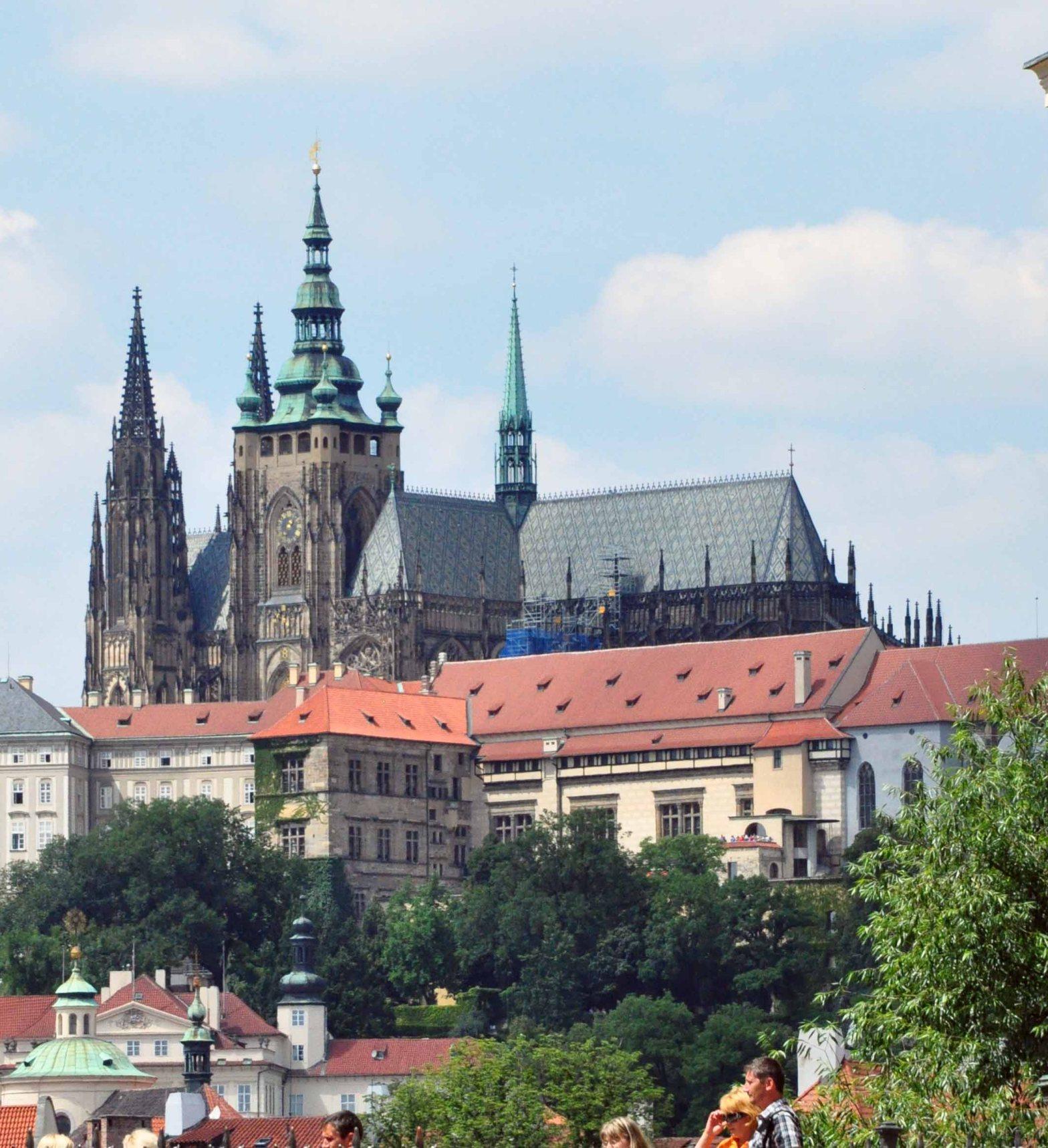 the Prague Castle