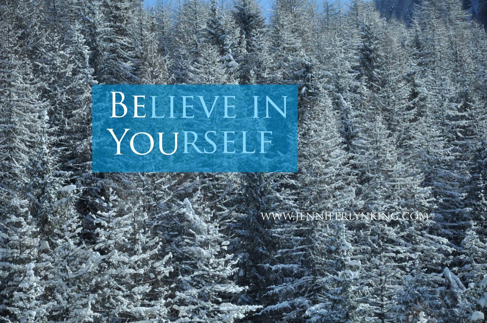 BBelieve in Yourself | Be You