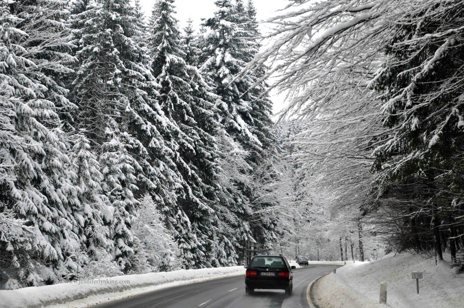 Winter Wonderland in Czech Republic Sumava