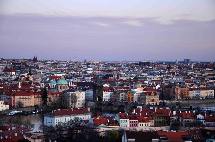 Prague's spires