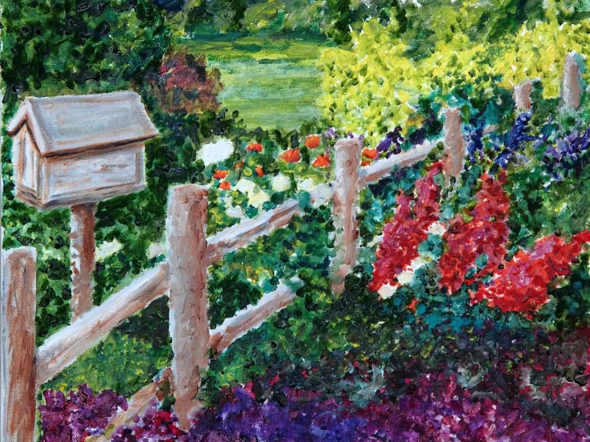 Jennifer Lyn painting