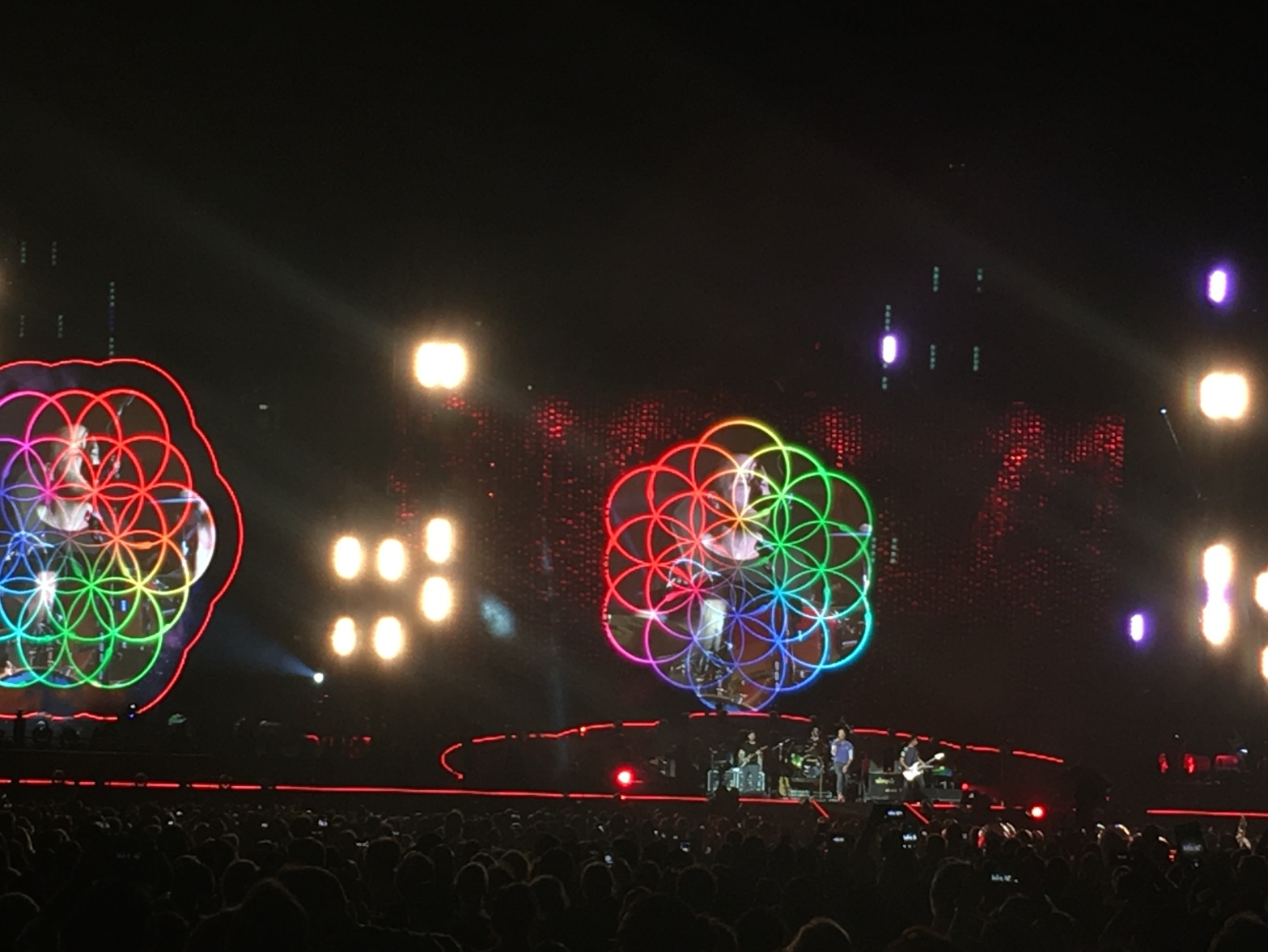 Coldplay, Chicago Soldier Field, July 23, 2016