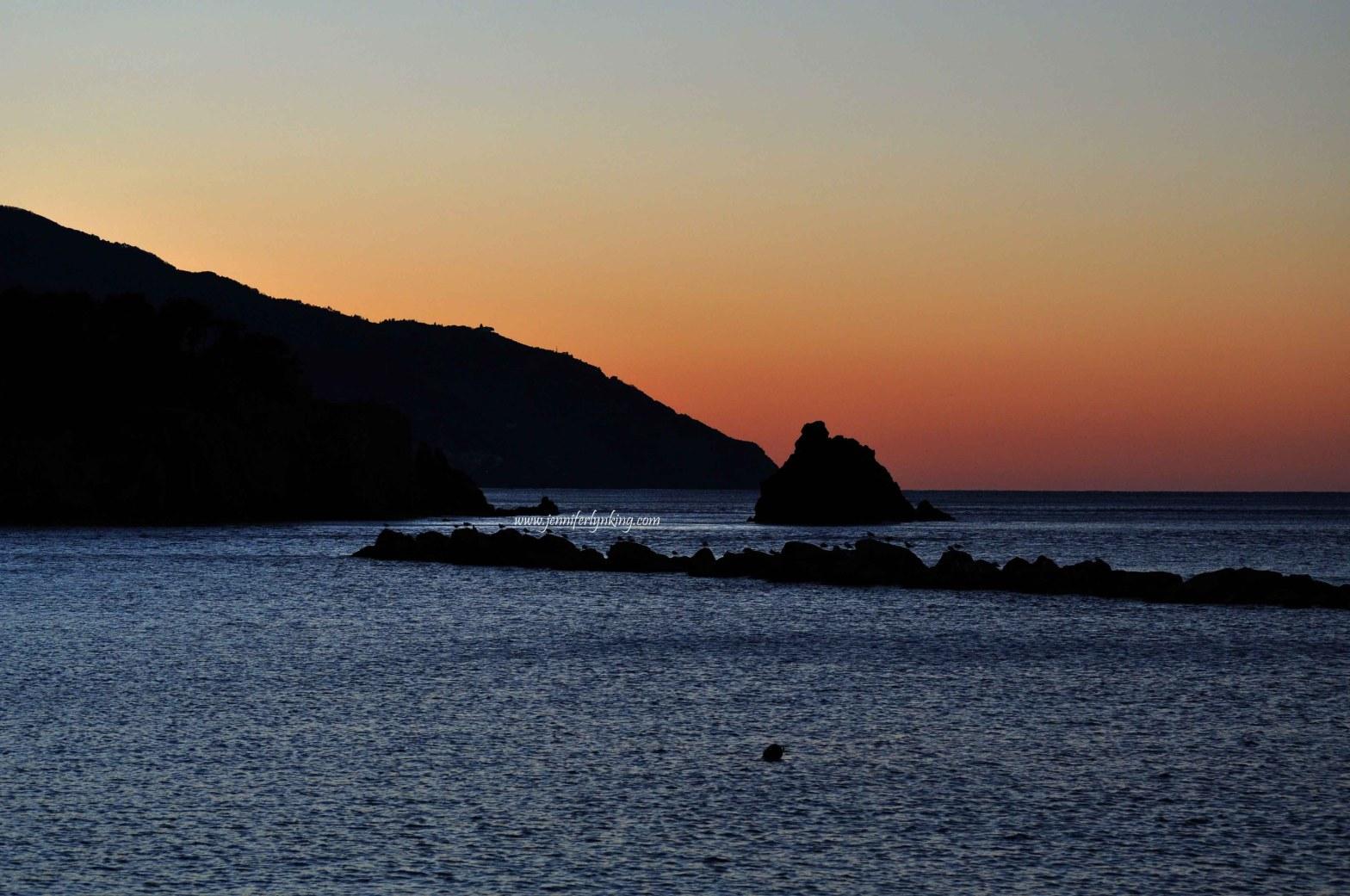 Italy's Cinque Terre, Sunrise at Monterosso al Mare