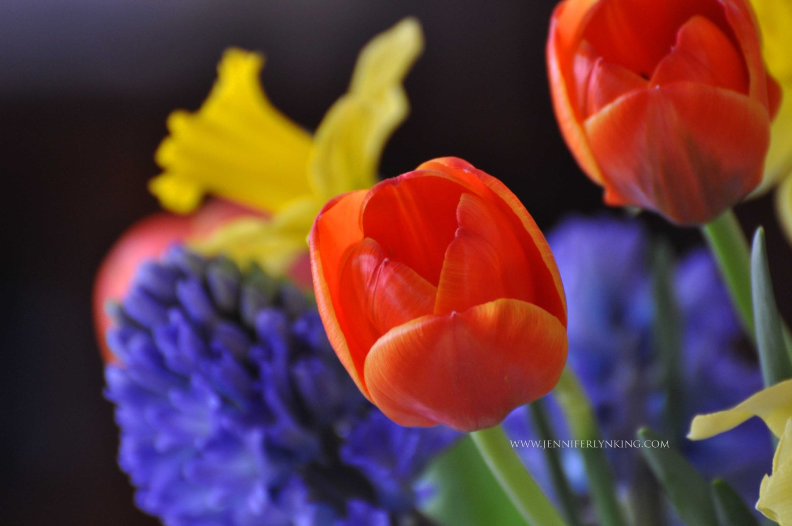 Flowers, Thankfulness, and Grace