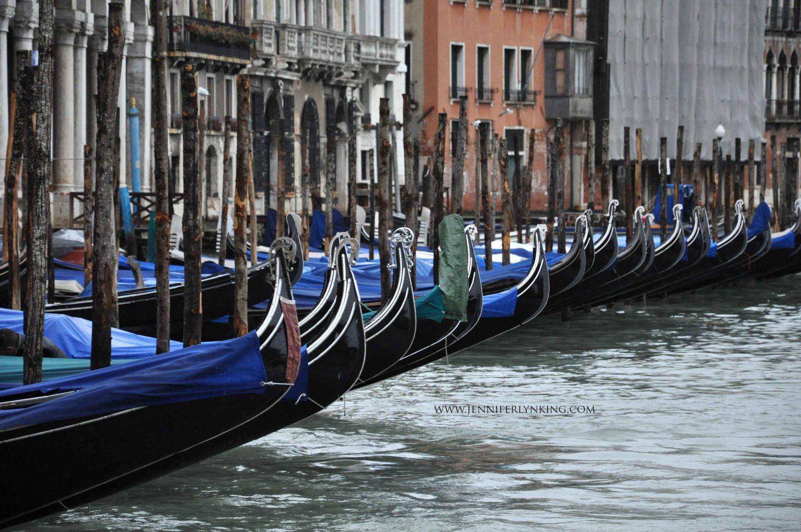 Venice, Italy, in February