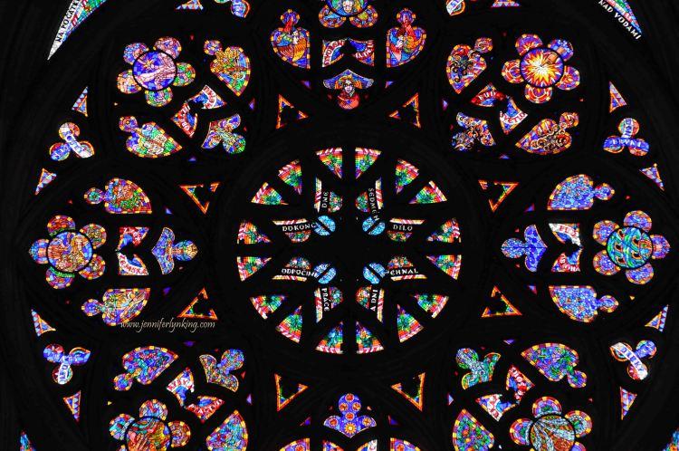 Inside Saint Vitus Cathedral, Prague Castle