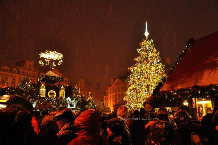 Prague's Old Town Christmas Tree