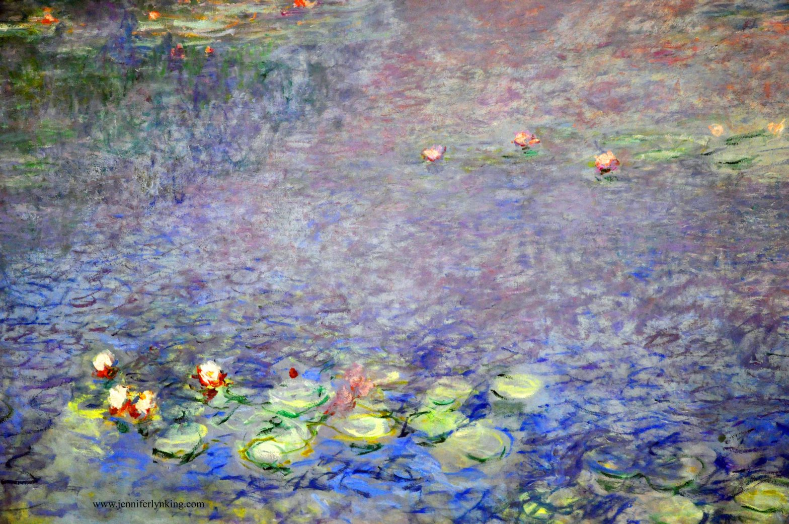Monet's Water Lilies, L'Orangerie, Paris