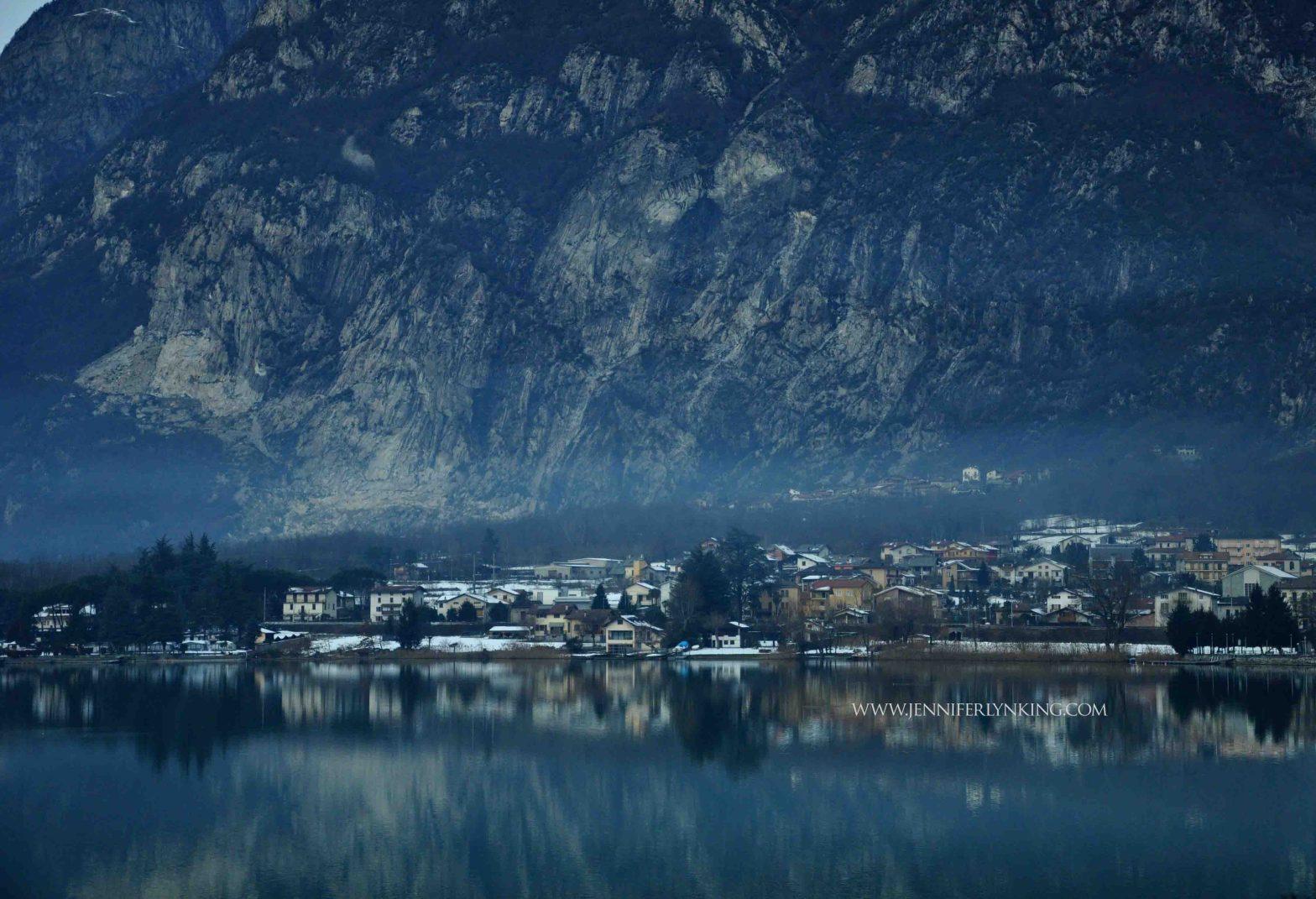 Northern Italy, reflections along Lake Como