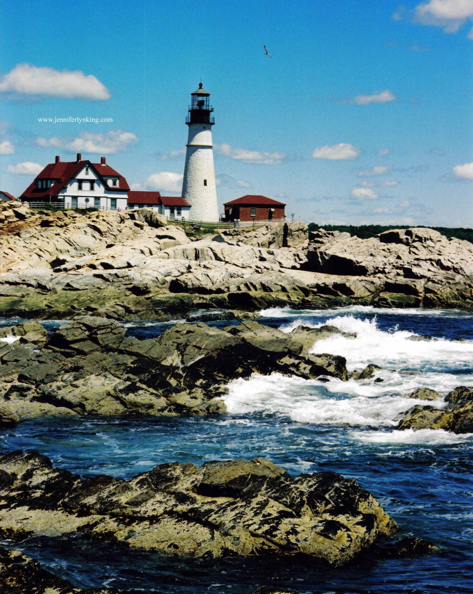 Portland Head Light, Portland, Maine, USA