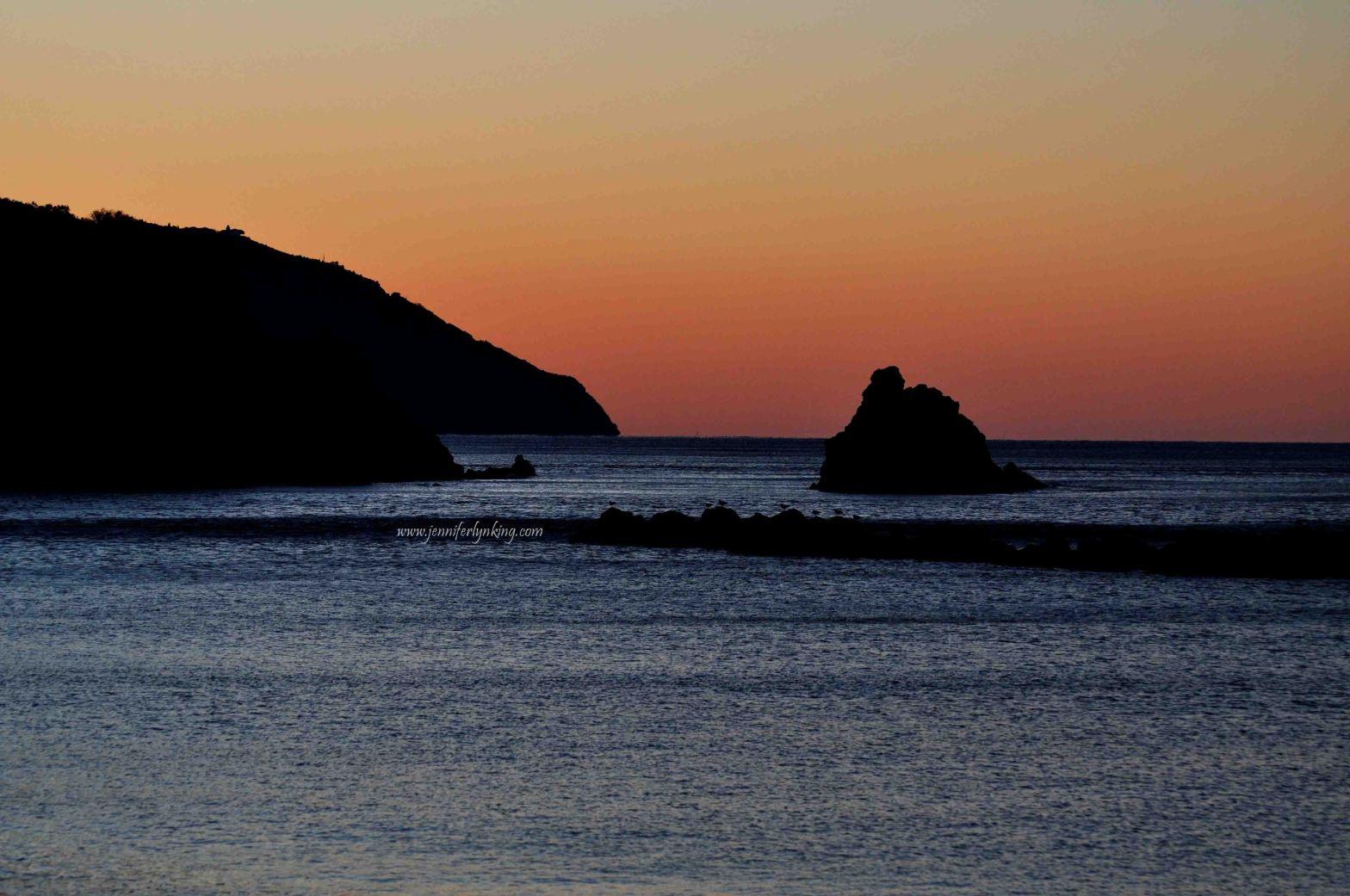 Sunrise at Monterosso al Mare, the Cinque Terre, Italy