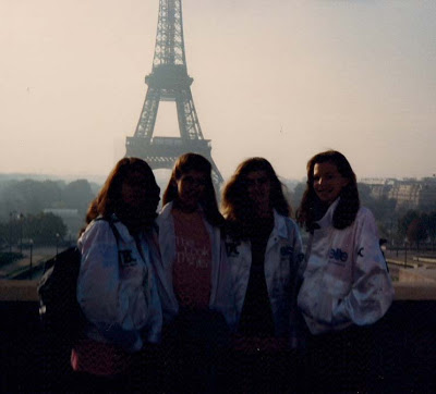 Me and 3 Friends, Elite Look of the Year, Paris 1989