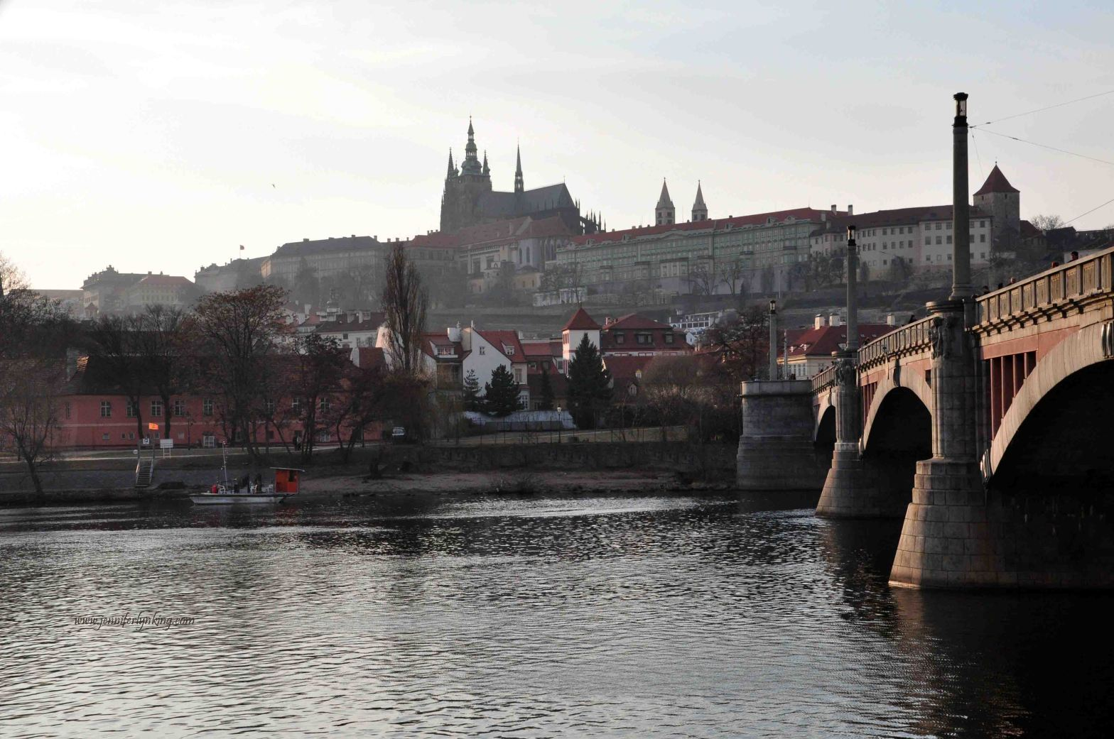 the Majestic Prague Castle