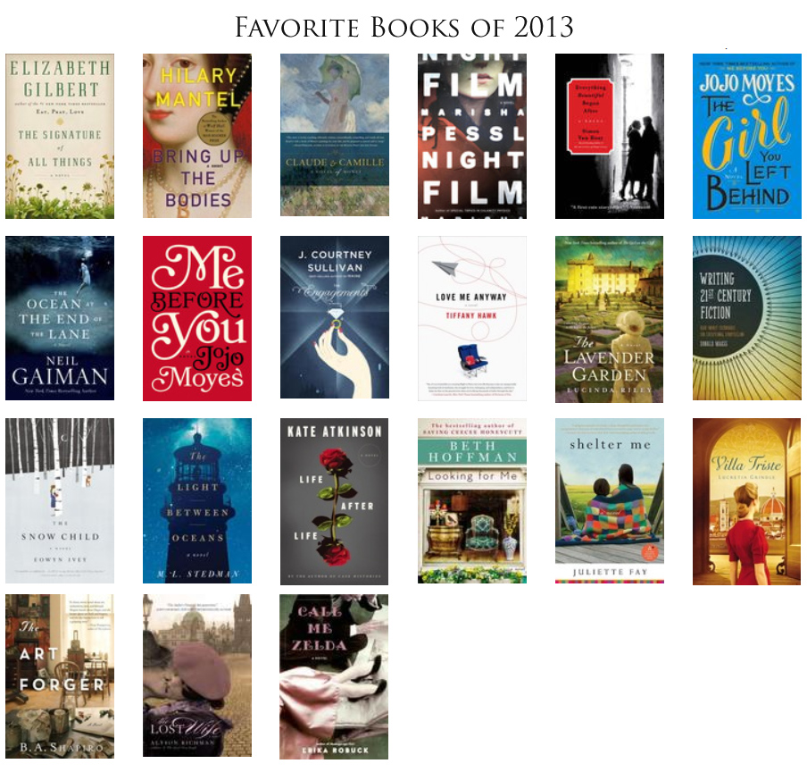 Favorite Books of 2013
