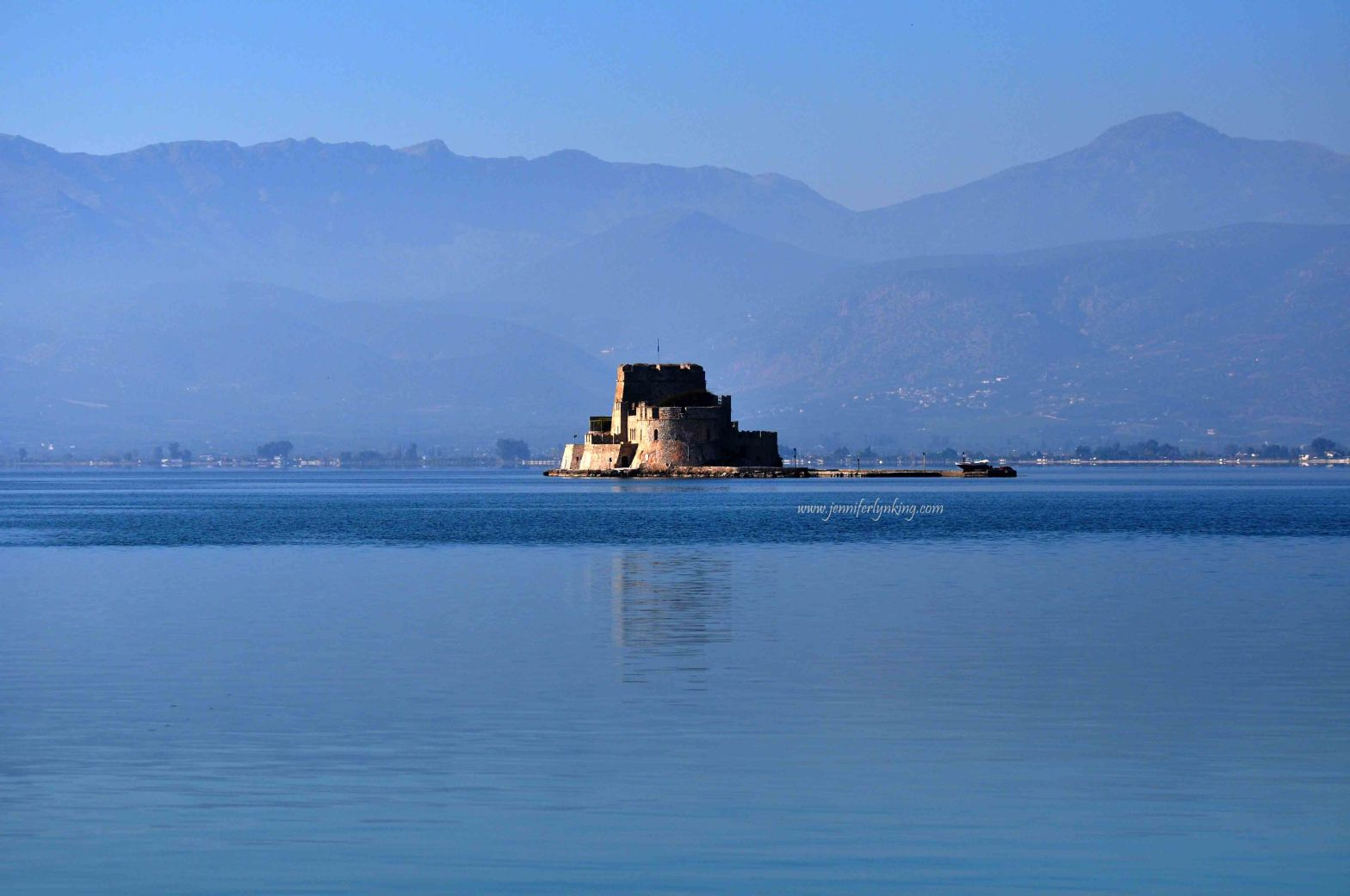 The Blue of the Aegean at Nafplio, Greece