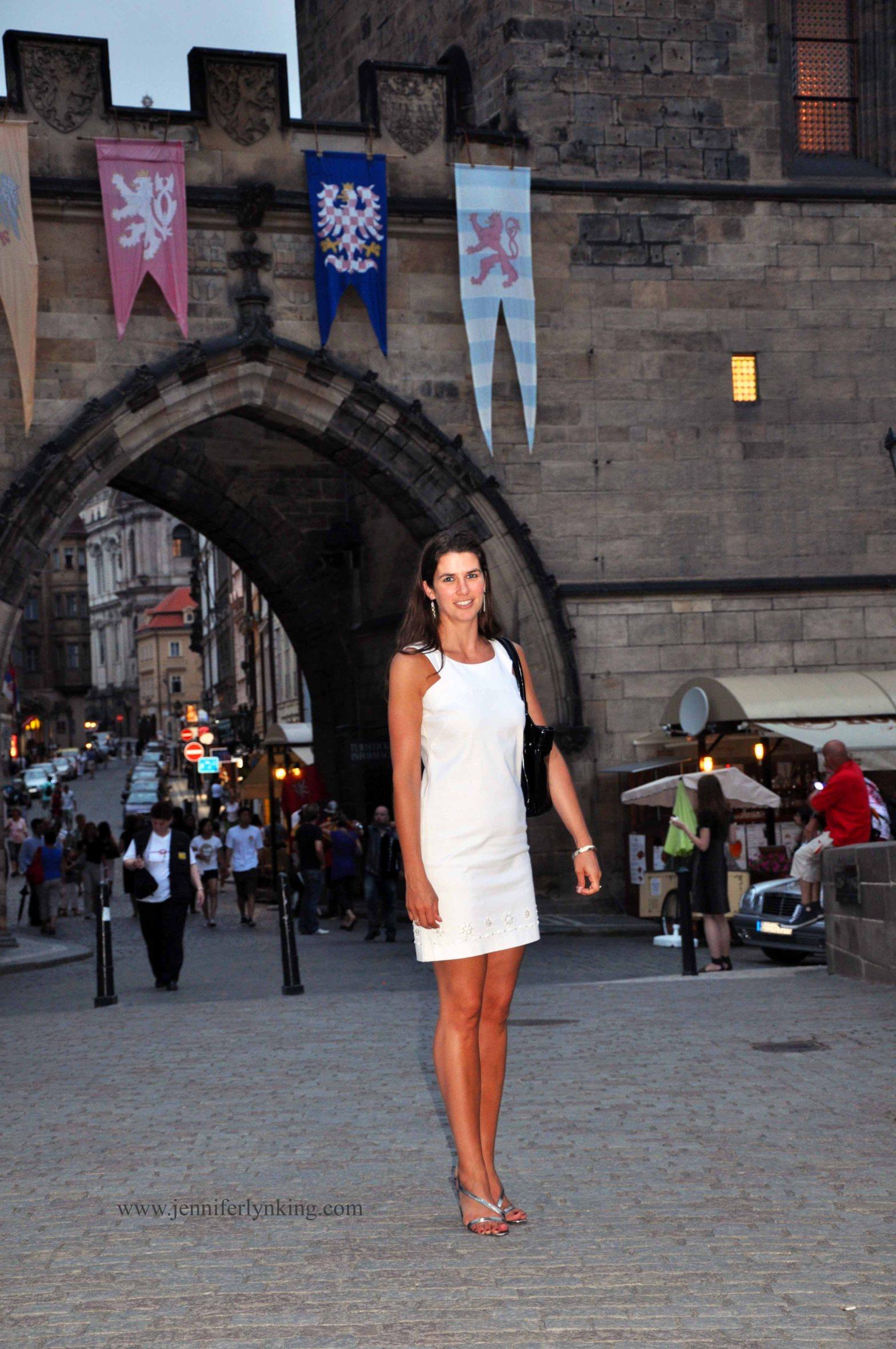 Jennifer Lyn King in Prague