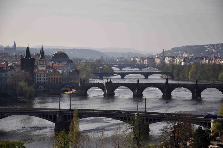 Prague and its 5 Bridges