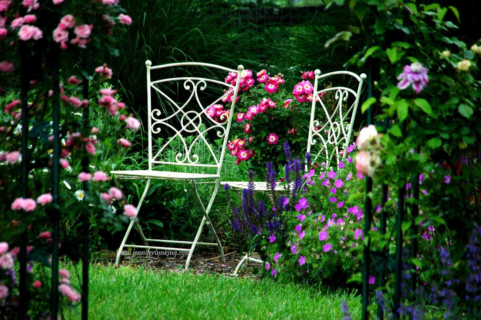 June Gardens, seats for two