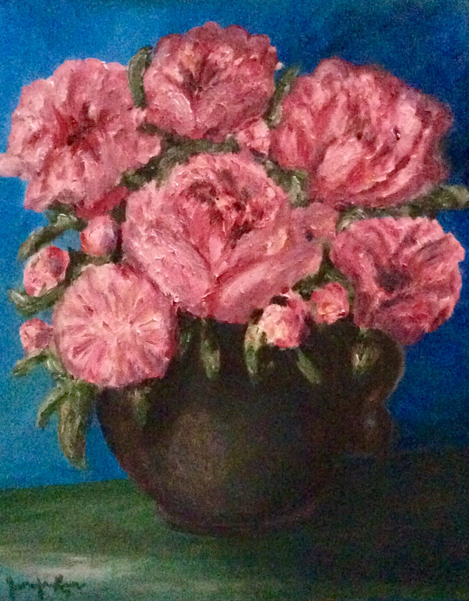 A recent oil painting