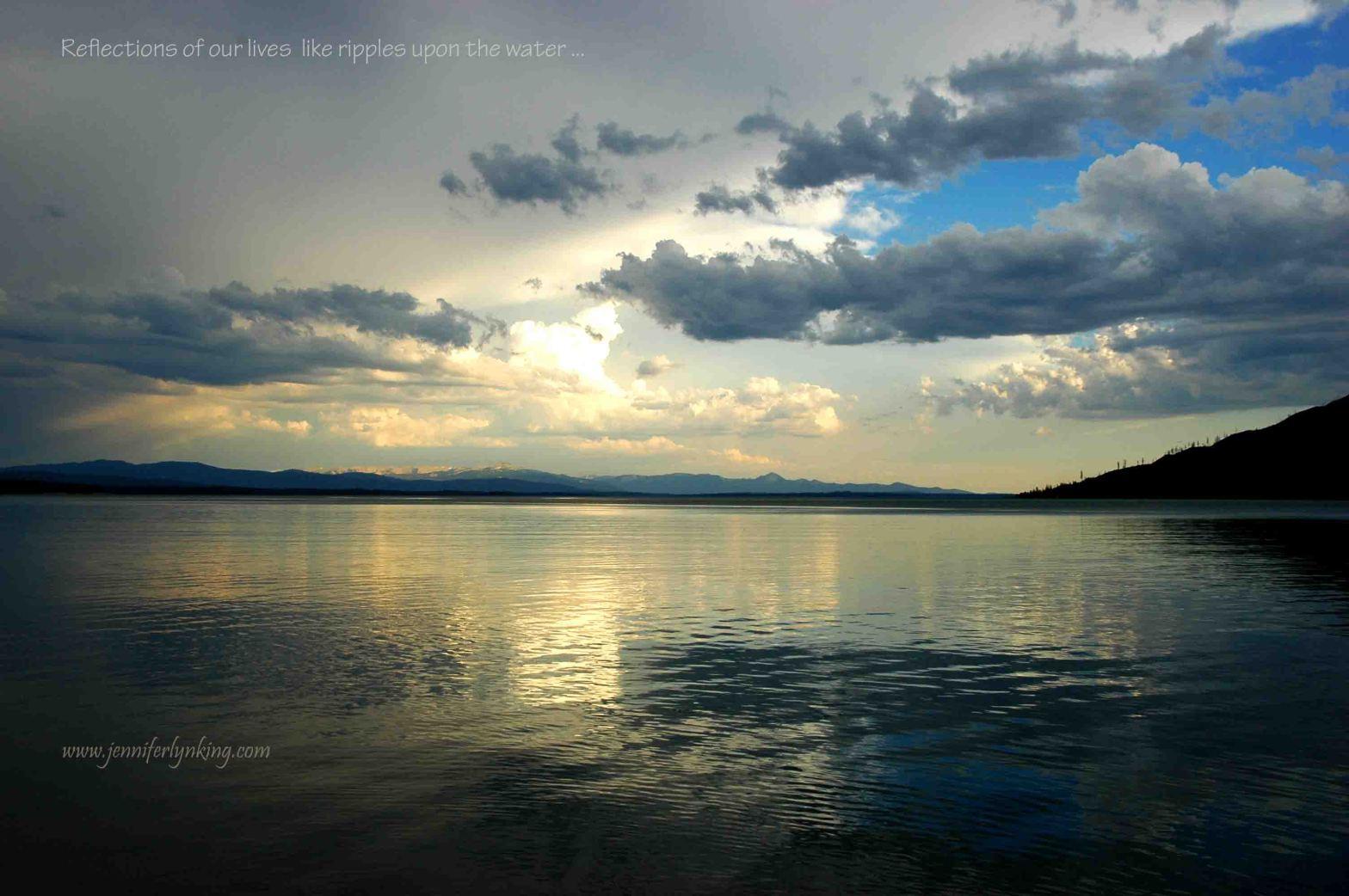 Grand Teton's Jackson Lake after the storm