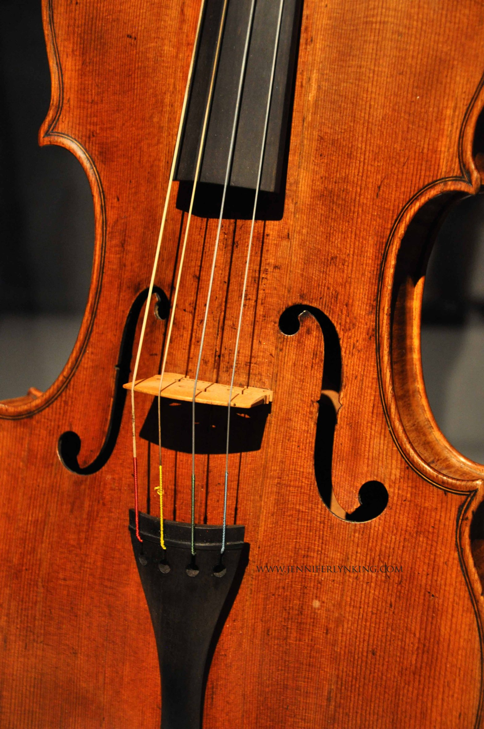 The Amati viola, the Cincinnati Museum of Art
