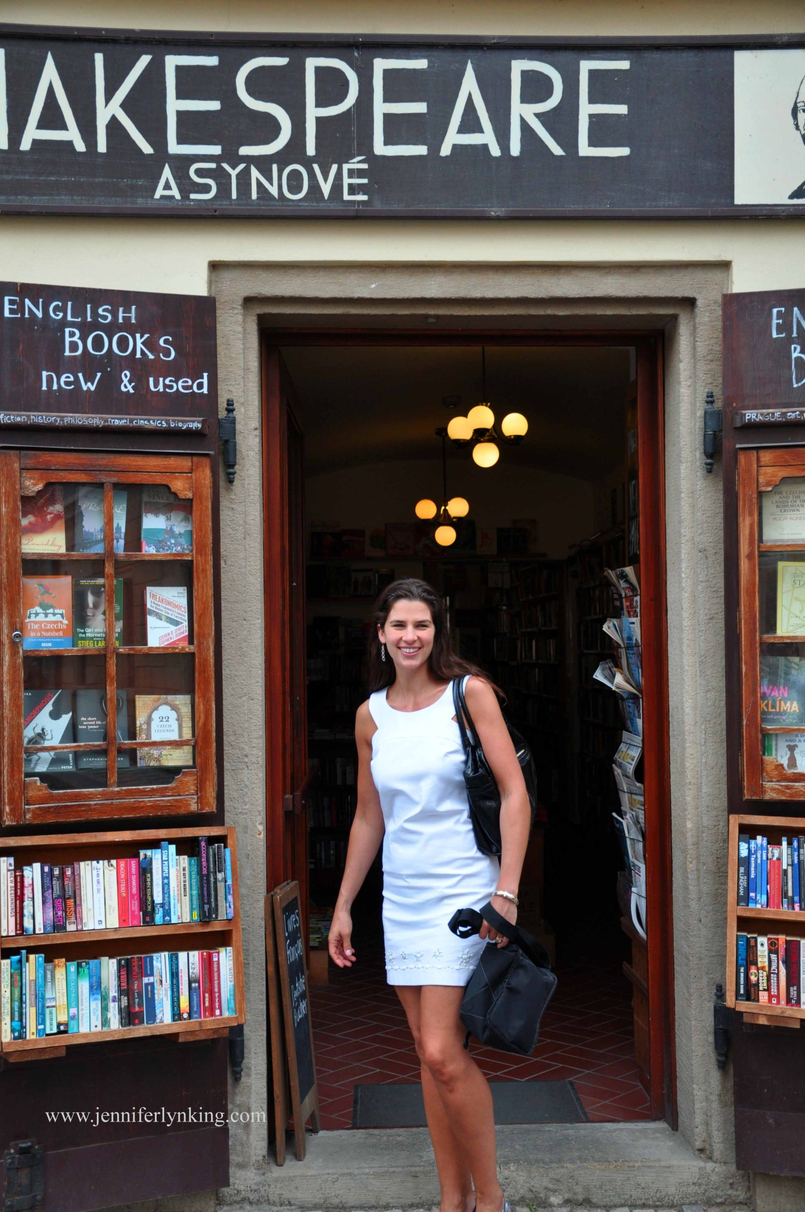 me, Jennifer Lyn King, in Prague